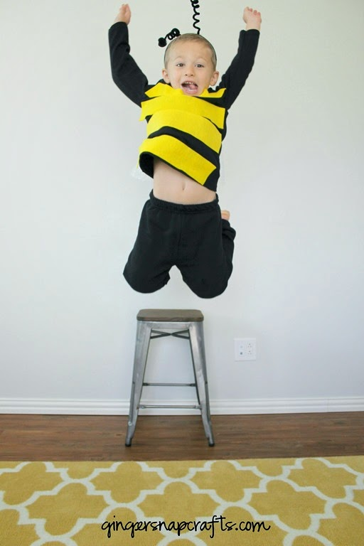 make a bee costume