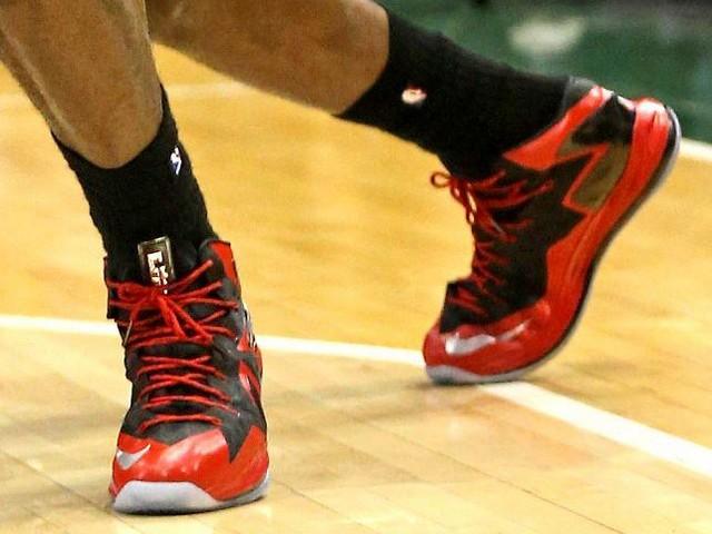Nike LeBron 10 PS Elite Alternate Black Red