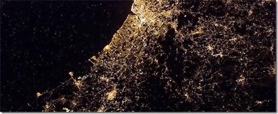 Porto fotografado pela ESA 19 Fevereiro 2013