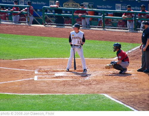 'Nate McLouth at bat' photo (c) 2008, Jon Dawson - license: http://creativecommons.org/licenses/by-nd/2.0/