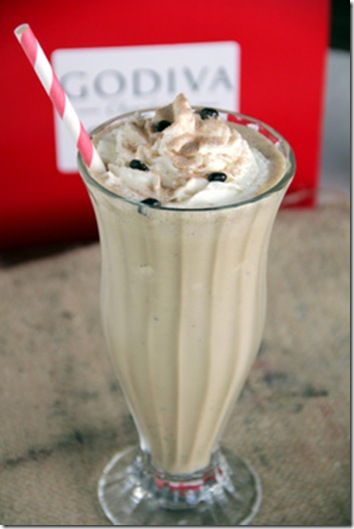 Spicy Godiva Mocha Shake