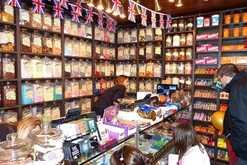 Sweet shop in Stratford