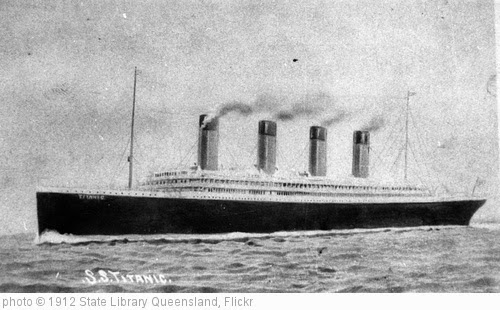 'The Titanic' photo (c) 1912, State Library Queensland - license: http://www.flickr.com/commons/usage/