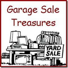 Garage Sale Treasure Button