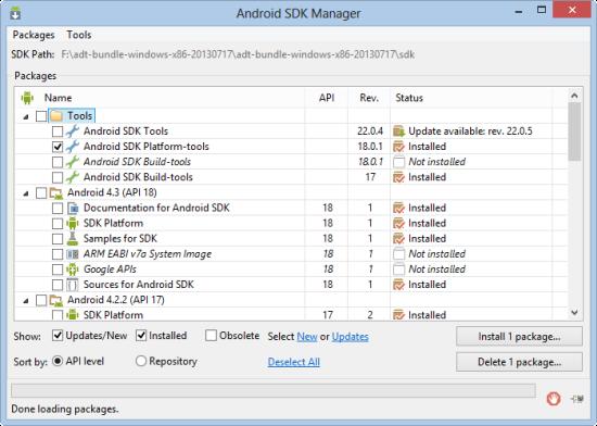 sdk-manager
