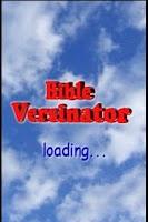 Screenshot of Bible Versinator