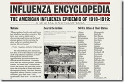 Influenza Encyclopedia of 1918-1919 Website