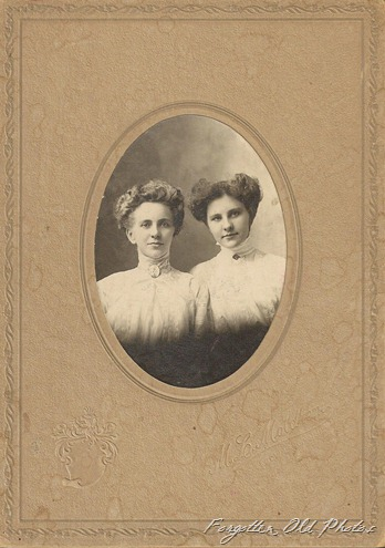 Hulda Brennin and sister Buggy Wheel Antiques