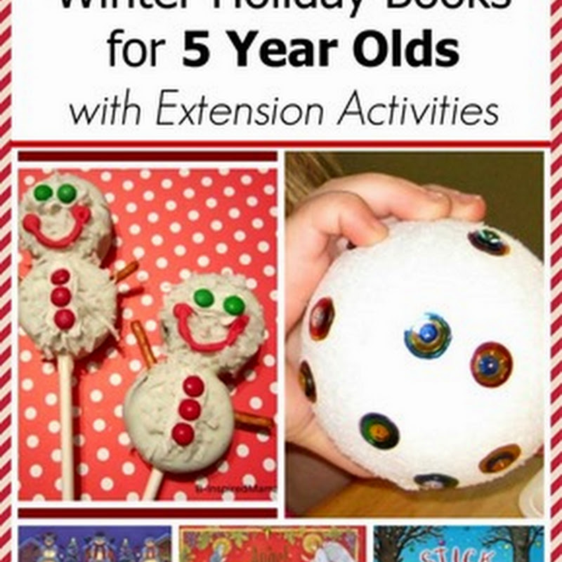 Winter Holiday Books for 5 Year Olds