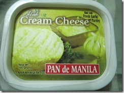 pan de manila herbed cream cheese, 240baon