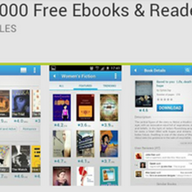 50000 Free Ebooks&Reader อ่านอีบุ๊คฟรีบนแอนดรอย์