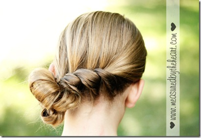 simple elegant hair tutorial