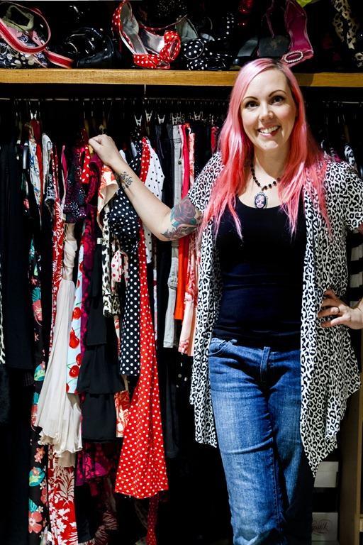 Her Wardrobe–Vicky Kidd-Gallichan, Designer
