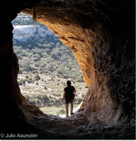 Interior de la Cueva de San Pascual - Ayora