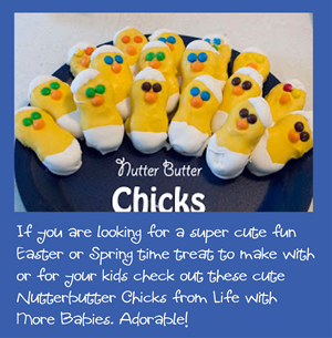 Nutter Butter Chick Easter treat