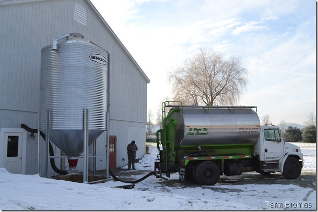 froling P4 Silo Filling 3