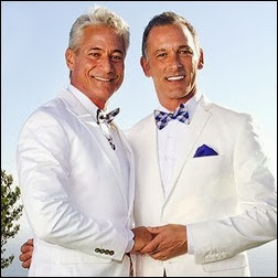 Greg Louganis e Johnny Chaillot