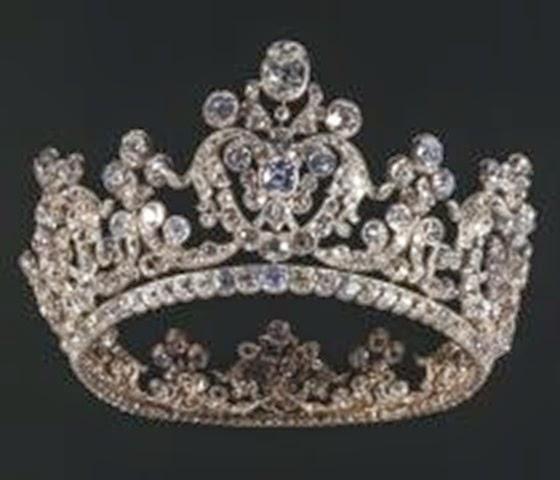 Diadema de la reina Paulina de Wurtemberg,