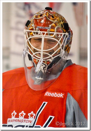 Smiling Holtby