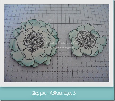blended blooms tut step 5