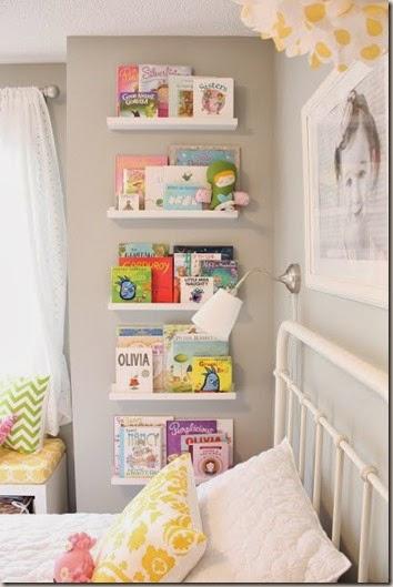 Coole-Ideen-Organisation-Kinderbüchereien-Regale-Bett