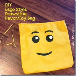 Lego Duplo HP obSEUSSed drawstring bag