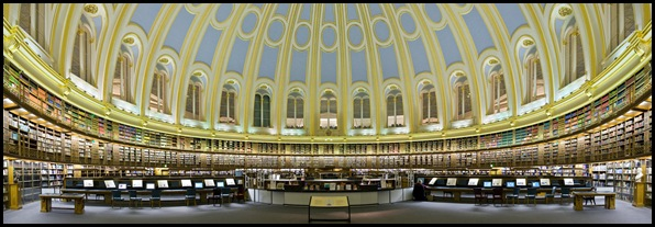 Old British Reading Room, British Museum, Londres , Angleterre -3