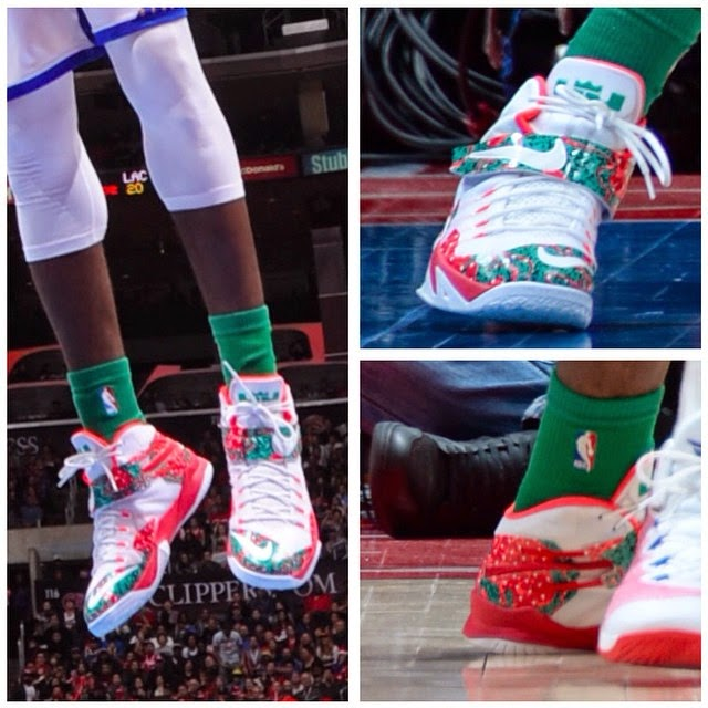 lebron 8 christmas. this is how zoom soldier 8 ruled the nba on christmas lebron