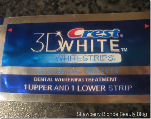Crest Whitening Strips (2)