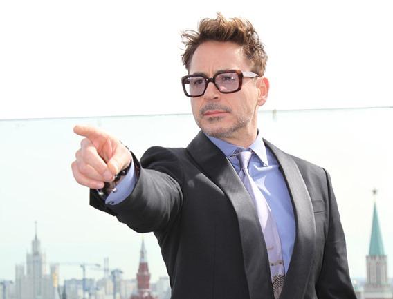 "MARVEL's ""Iron Man 3"" Moscow Press Tour_Robert Downey, Jr."