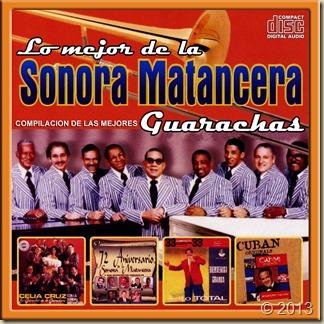 Guarachas con la Sonora Matancera - Front