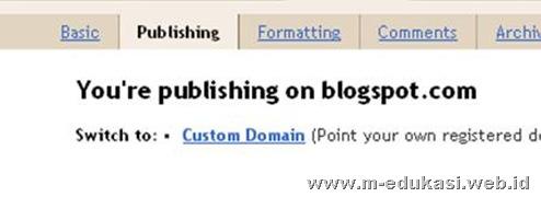 publikasi domain