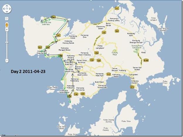langkawi map 2