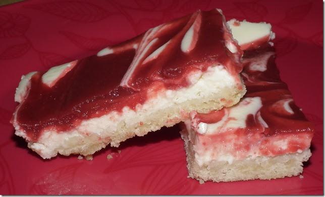 Baking And Boys!: Cherry Cheesecake Bars