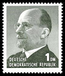 Briefmarke DDR - 1 DM - Quelle: Wikipedia