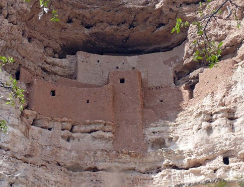 Montezuma Castle Closeup