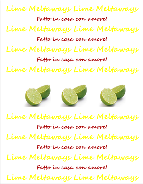 LimeMeltawaysEtiketteItal