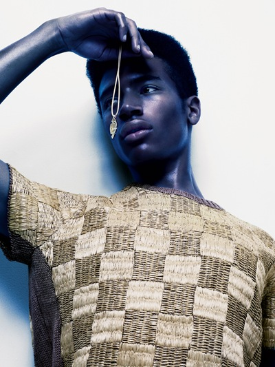 Henry Pedro Wright @ Select by Sølve Sundsbø for Interview, December 2011.  Styled by Katie Grand.