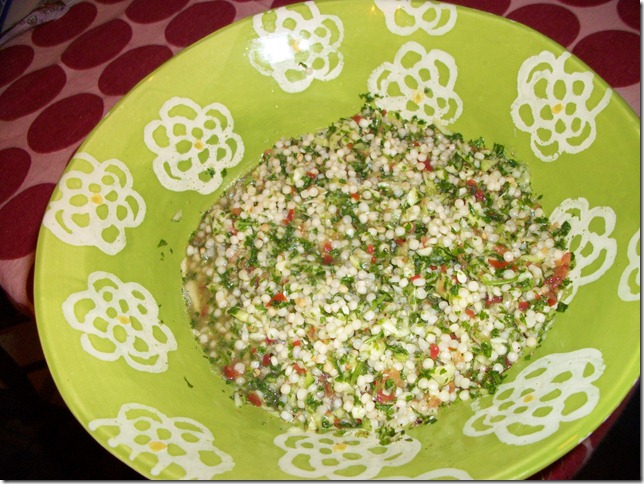 taboule with couscous