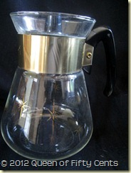 CORNING COFFEE CARAFE