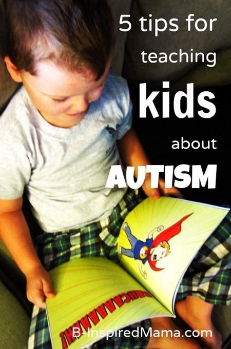 Chicken Boy Autism Children's Book 1