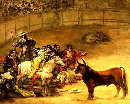 Goya 11 Suerte de Varas