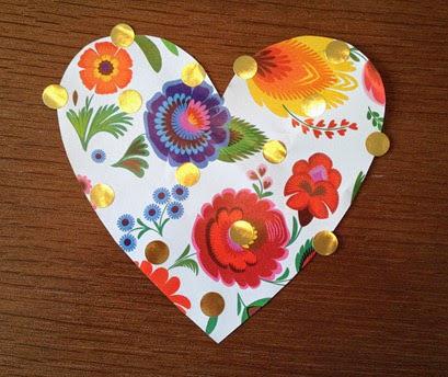 Corazón pegatinas