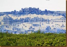 Lisbon, tile picture