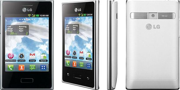 review harga dan spesifikasi LG Optimus L3 A400