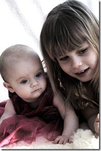 Lisa nästan 7 månader o svensk prinsessan e född! 077