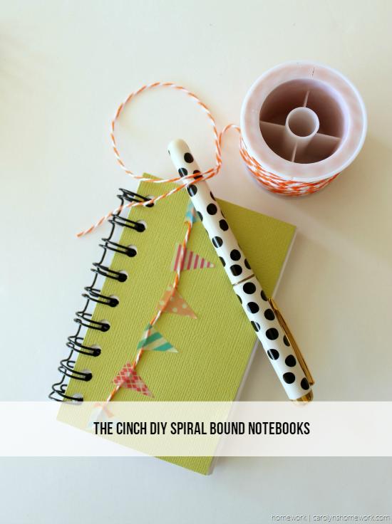 The Cinch DIY Notebooks via homework - carolynshomework (2)