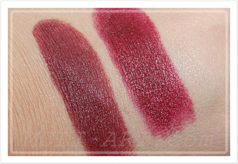 labial-dare-versus-labial-cramberry-sleek-makeup