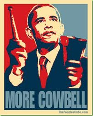 bo more cowbell poster