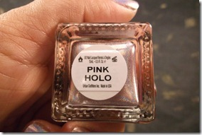 pink holo 3